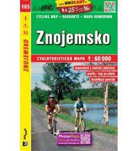 Radkarten SHOcart Cycling Map 165, Znojemsko 1:60.000 Shocart