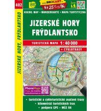 Wanderkarten Tschechien SHOCart WK 402 Tschechien - Jizerske hory, Frydlantsko 1:40.000 Shocart