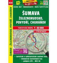Wanderkarten Sumava Zeleznorudsko Povydri 1:40.000 Shocart