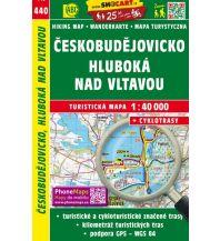 Wanderkarten Tschechien SHOcart Wanderkarte 440, Českobudějovicko 1:40.000 Shocart