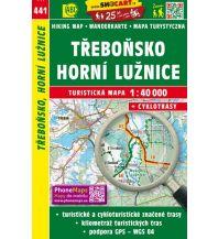 Wanderkarten Tschechien SHOcart Wanderkarte 441, Třeboňsko, Horní Lužnice/Obere Lainsitz 1:40.000 Shocart