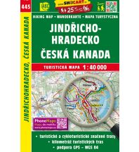 Wanderkarten Tschechien SHOCart WK 445 Tschechien - Jindrichohradecko, Ceska Kanada 1:40.000 Shocart