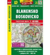 Wanderkarten Tschechien SHOCart WK 456 Tschechien - Blansko Boskovicko 1:40.000 Shocart
