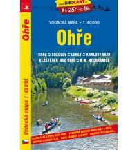 Kanusport SHOcart Wassersportkarte Ohře/Eger 1:40.000 Shocart