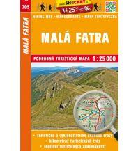 Wanderkarten Tschechien SHOcart-Wanderkarte 705, Malá Fatra/Kleine Fatra 1:25.000 Shocart