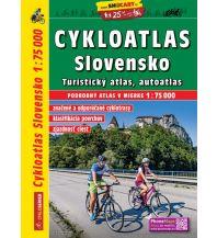 Wanderkarten Tschechien SHOcart Cyckloatlas/Radatlas Slovensko/Slowakei 1:75.000 Shocart