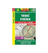 Wanderkarten SHOcart WK 483 Slowakei - Tribec, Vtacnik 1:40.000 Shocart