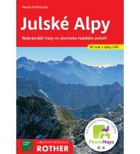 Rother Turistický Pruvodce Julské Alpy freytag & berndt Praha