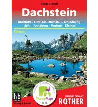 Wanderführer Rother Turistický pruvodce Dachstein freytag & berndt Praha