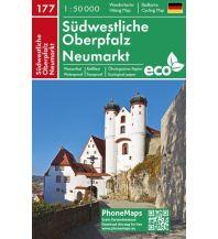 PhoneMaps Wander- & Radkarte 177, Südwestliche Oberpfalz, Neumarkt 1:50.000 PHONEMAPS