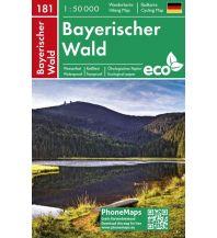 PhoneMaps Wander- & Radkarte 181, Bayerischer Wald 1:50.000 PHONEMAPS