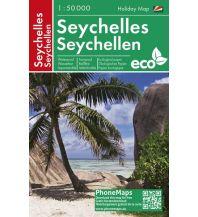 Seychellen/Seychelles, Freizeitkarte 1:50.000 PHONEMAPS