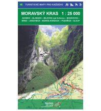 Wanderkarten Tschechien Geodezie WK 15 Tschechien - Moravsky kras / Mährischer Karst 1:25.000 Geodezie CS Digitalni Kartografie