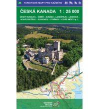 Wanderkarten Tschechien Geodézie-Karte 46, Česká Kanada/Böhmisches Kanada 1:25.000 Geodezie CS Digitalni Kartografie