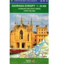Wanderkarten Tschechien Geodézie-Karte 22, Zahrada Evropy (Südmähren) 1:25.000 Geodezie CS Digitalni Kartografie