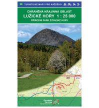 Wanderkarten Tschechien Geodezie WK 25 Tschechien - Luzicke hory / Lausitzer Gebirge 1:25.000 Geodezie CS Digitalni Kartografie