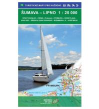 Wanderkarten Tschechien Geodézie-Karte 73, Šumava/Böhmerwald - Lipno 1:25.000 Geodezie CS Digitalni Kartografie