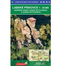 Wanderkarten Tschechien Geodézie-Karte 38, Labské pískovce/Elbsandsteingebirge 1:25.000 Geodezie CS Digitalni Kartografie