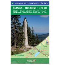 Wanderkarten Oberösterreich Geodézie-Karte 81, Šumava/Böhmerwald - Trojmezí/Dreiländereck 1:25.000 Geodezie CS Digitalni Kartografie
