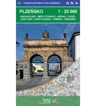 Wanderkarten Tschechien Geodézie-Karte 51, Plzensko/Pilsen 1:25.000 Geodezie CS Digitalni Kartografie