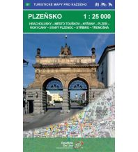 Wanderkarten Tschechien Geodézie-Karte 51, Plzeňsko/Pilsen 1:25.000 Geodezie CS Digitalni Kartografie