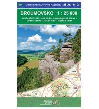 Wanderkarten Tschechien Geodézie-Karte 60, Broumovsko/Braunauer Ländchen 1:25.000 Geodezie CS Digitalni Kartografie