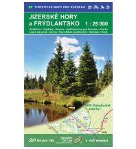 Geodézie-Karte 23, Jizerské hory/Isergebirge 1:25.000 Geodezie CS Digitalni Kartografie