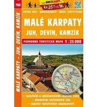 Wanderkarten Slowakei SHOcart-Wanderkarte 706, Malé Karpaty/Kleine Karpaten 1:25.000 Shocart