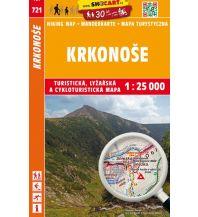 SHOcart Wanderkarte 721, Krkonoše/Riesengebirge 1:25.000 Shocart