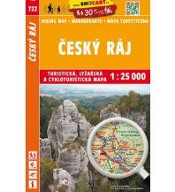 SHOcart Wanderkarte 722, Český ráj/Böhmisches Paradies 1:25.000 Shocart