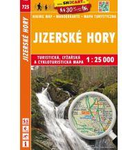 SHOcart Wanderkarte 723, Jizerské hory/Isergebirge 1:25.000 Shocart