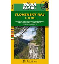 Wanderkarten Slowakei TatraPlan Wanderkarte 2504, Slovenský raj/Slowakisches Paradies 1:25.000 Tatraplan s.r.o.