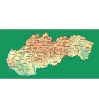 Wanderkarten TatraPlan WK 5018 Slowakei - Strazovske vrchy 1:50.000 Tatraplan s.r.o.