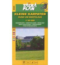 Wanderkarten Slowakei TatraPlan Wanderkarte 5023, Kleine Karpaten 1:50.000 Tatraplan s.r.o.
