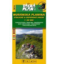 Wanderkarten TatraPlan WK 5014 Slowakei - Muranska planina 1:50.000 Tatraplan s.r.o.