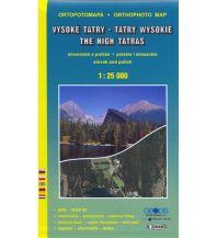 Wanderkarten TatraPlan Luftbildkarte Slowakei - Vysoke Tatry / Hohe Tatra 1:25.000 Tatraplan s.r.o.