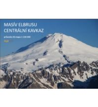 Wanderkarten Kleslo-Trekkingkarte Elbrus 1:130.000 Eigenverlag Michal Kleslo