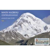 Wanderkarten Georgien Kleslo-Trekkingkarte Kazbek 1:50.000 Eigenverlag Michal Kleslo