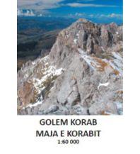 Wanderkarten Nordmazedonien Kleslo-Wanderkarte Golem Korab/Maja e Korabit 1:60.000 Eigenverlag Michal Kleslo