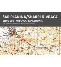 Wanderkarten Nordmazedonien Kleslo-Wanderkarte Šar Planina/Sharri & Vraca 1:100.000 Eigenverlag Michal Kleslo