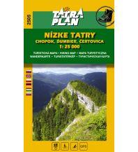 Wanderkarten Slowakei TatraPlan Wanderkarte 2505 Nizké Tatry/Niedere Tatra, Chopok 1:25.000 Tatraplan s.r.o.