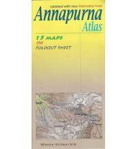 Wanderkarten Himalaya Annapurna Atlas Cordee Publishing