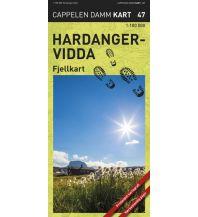 Wanderkarten Skandinavien Cappelens Kart CK 47 Norwegen - Hardangervidda 1:100.000 Cappelens