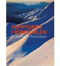 Skitourenkarten Skiing Map Ski Touring in Romsdalen 1:50.000 Fri Flyt AS
