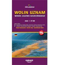 Wanderkarten Polen Cartomedia Mapa Turystyczna Polen, Wolin/Wollin, Uznam/Usedom 1:67.500 Cartomedia