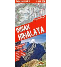 Wanderkarten Himalaya Terraquest Trekking Map Indien - Indian Himalaya 1:350.000 terraQuest