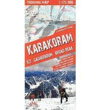 Wanderkarten Asien Terraquest Trekking Map Pakistan - Karakorum 1:175.000 terraQuest