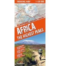 Wanderkarten Afrika Africa - The highest Peaks 1:150.000 terraQuest