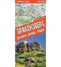 Wanderkarten Südafrika Drakensberg - Ukhalamba Park terraQuest
