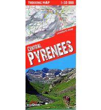 Wanderkarten Frankreich Terraquest Trekking Map Pyrenäen - Central Pyrenees 1:50.000 terraQuest